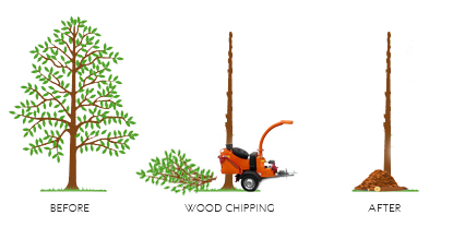 Wood Chipping